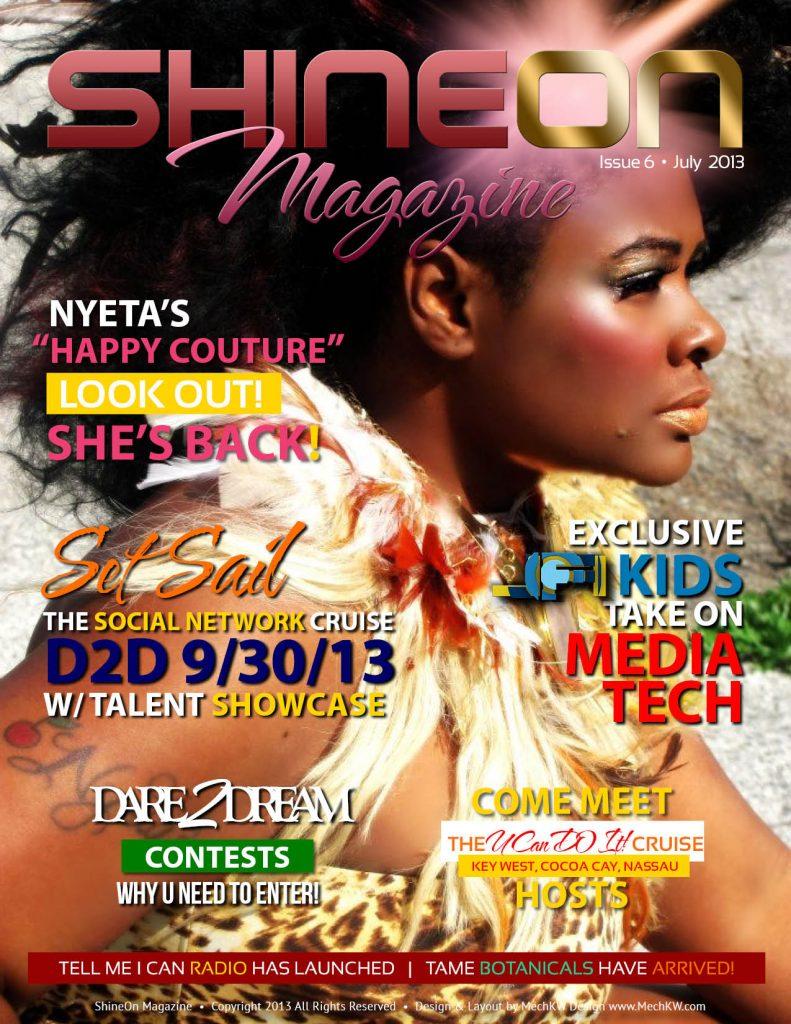 ShineOn Magazine Cover